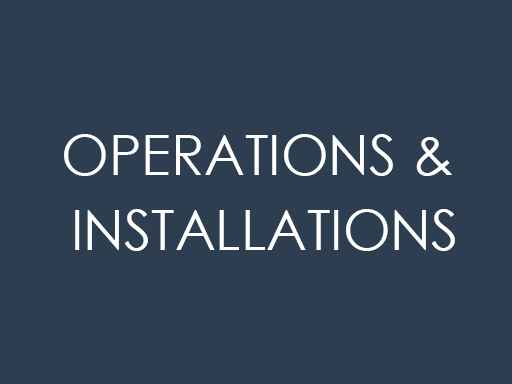 Operation & Installations
