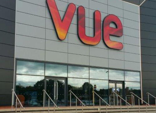 Commercial Doors Vue Cinema