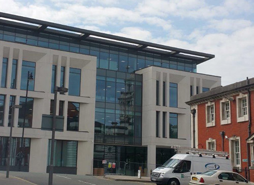 Edward Street Commercial Curtain Walling