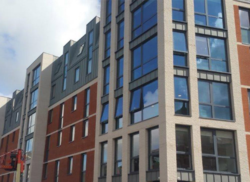 Student Accommodation Glazing Preston