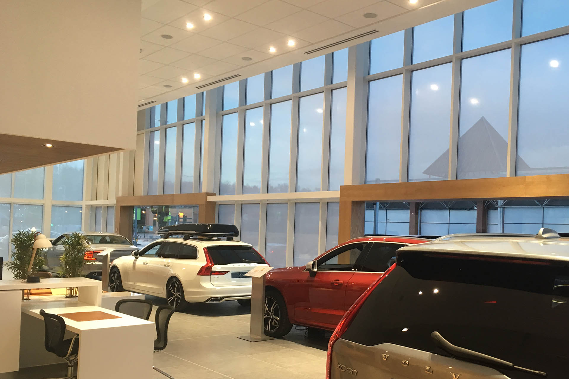 Car Showroom Commercial Glazing
