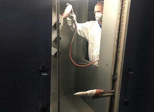Powder Coating Process