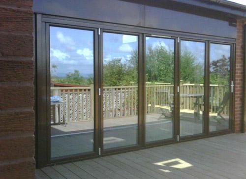 Restaurant Bi-folding doors