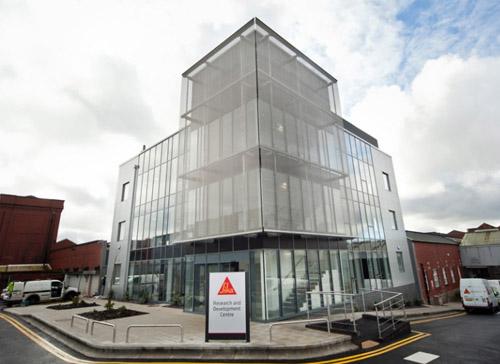 Silka Plastics Preston Office Glazing